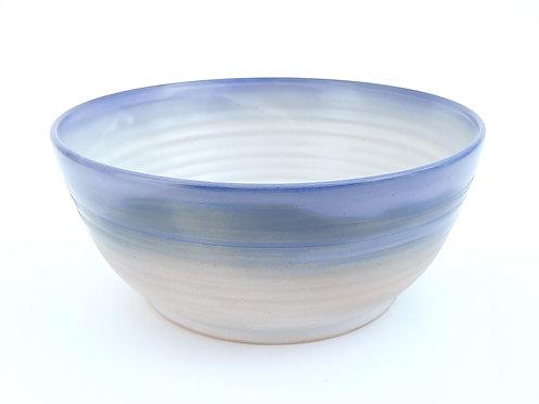 Fade Blue Serving Bowl