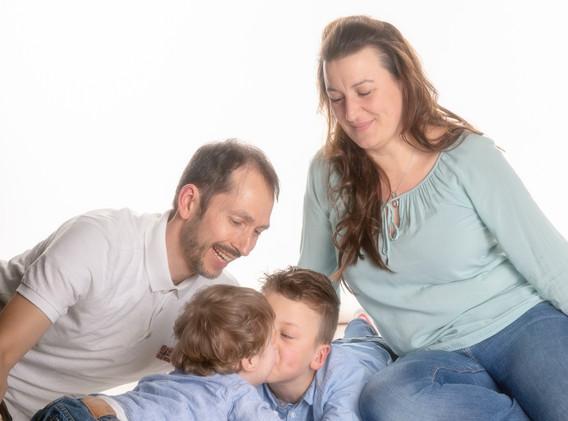 natürliche Familienfotografie