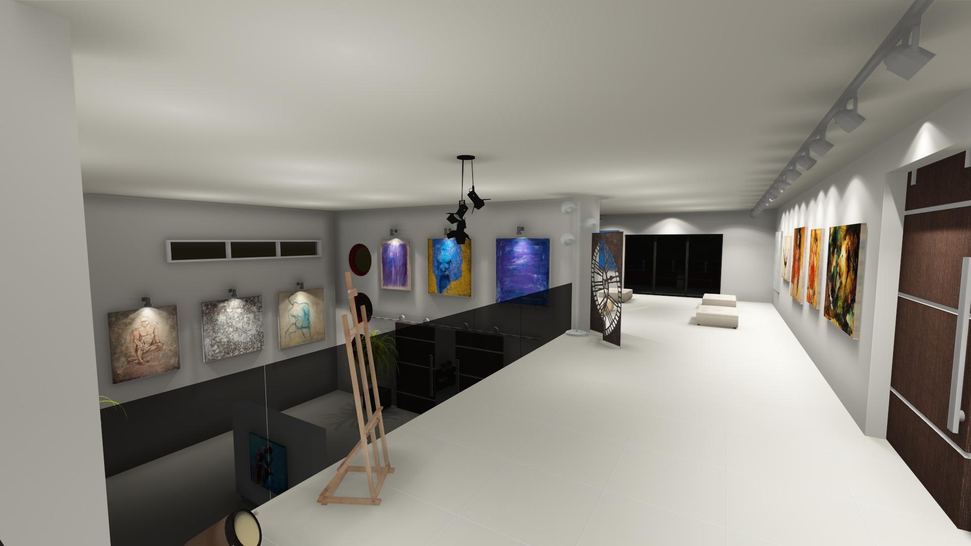 galeria de arte - mezanino