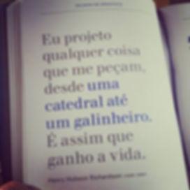 livro Palavra de arquiteto