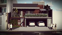 opção com garagem baixa