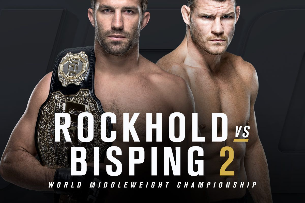 UFC ROCKHOLD vs BISPING PRFIGHT