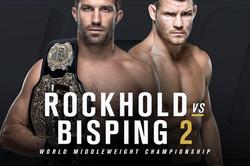 UFC ROCKHOLD vs BISPING PRFIGHT