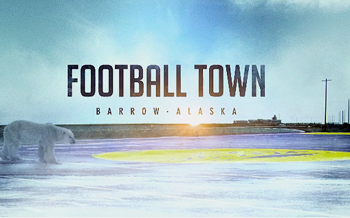 football town Barrow Alaska