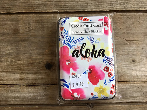 """""""Aloha"""" Floral 4.24""""x3""""x1"""" RFID Protector Wallet by Lady Jayne"""