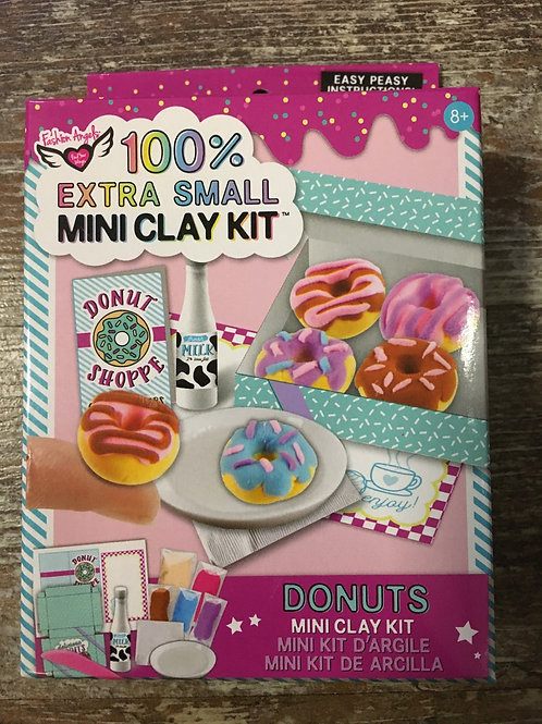 100% Extra Small Donuts Mini Clay Kit by Fashion Angels Enterprises