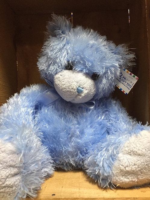 """12"""" Cotton Candy Blue Bear Plush Stuffed Animal"""