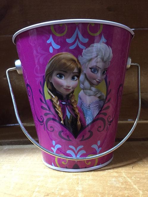 """4.5"""" Disney's Frozen Metal Bucket"""