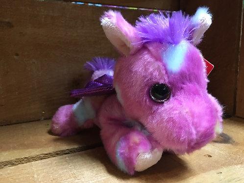 "8"" Tutti Frutti the Pegasus Aurora Brand Plush Stuffed Animal"