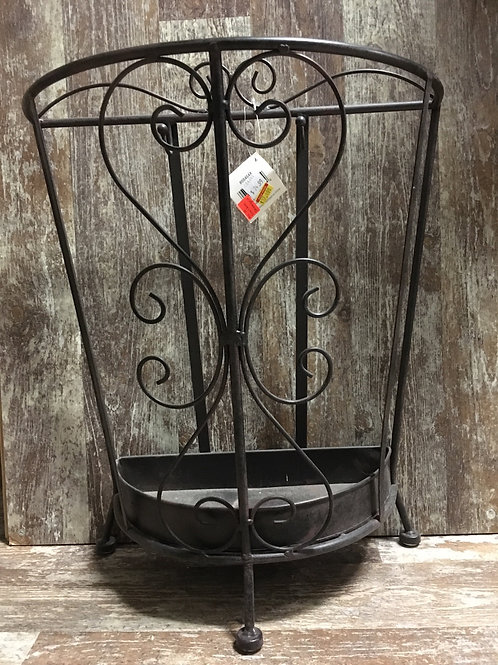 """18"""" x 15.5"""" x 7.25"""" Metal Umbrella Stand by GiftCraft - Final Sale"""