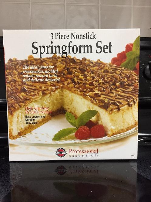 3 Piece Nonstick Springform Set