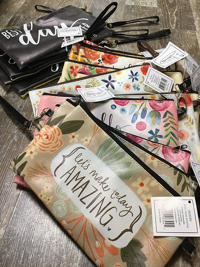 Zippered Bag with Strap