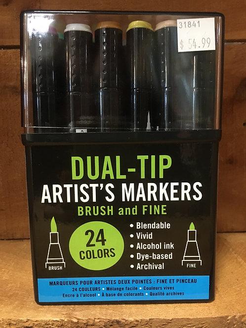 24 Colour Duel Tip Alcohol Market Set by Studio Series