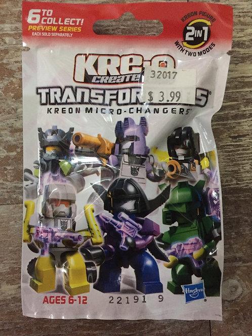Transformers Kreon Micro-Changers Kre-o Create it Mini Pack