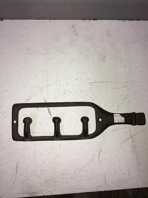 Cast Iron Bottle Wall Hooks