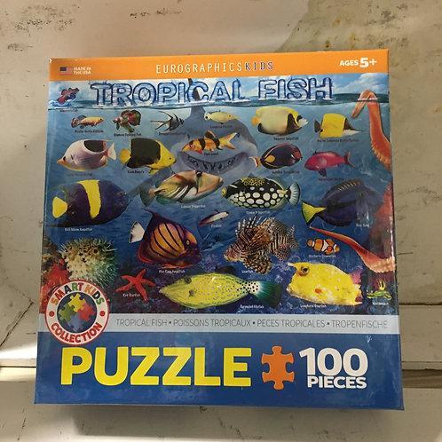 Tropical Fish -100 pc Puzzle