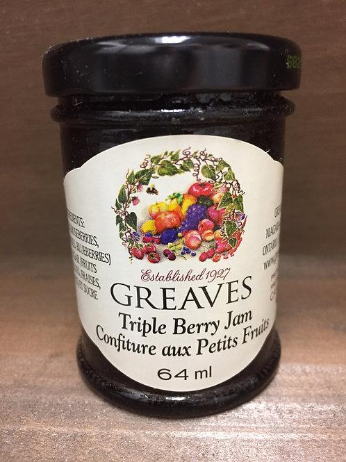 Triple Berry Jam- 64G