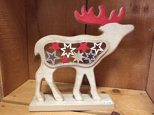 Wooden Moose Cutout