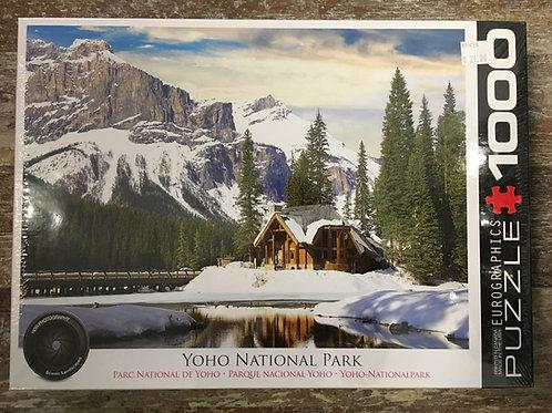 Yoho National Park 1000 Piece Eurographics Puzzle