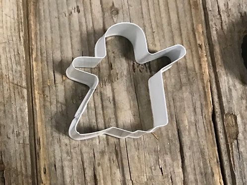 """3.25"""" x 3.25"""" Metal Ghost Shaped Cookie Cutter"""