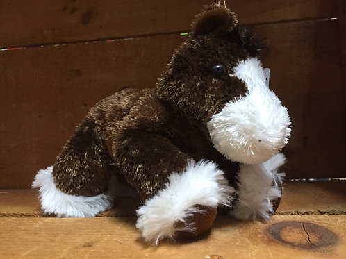 "7"" Clydes the Horse Aurora Brand Plush Stuffed Animal"