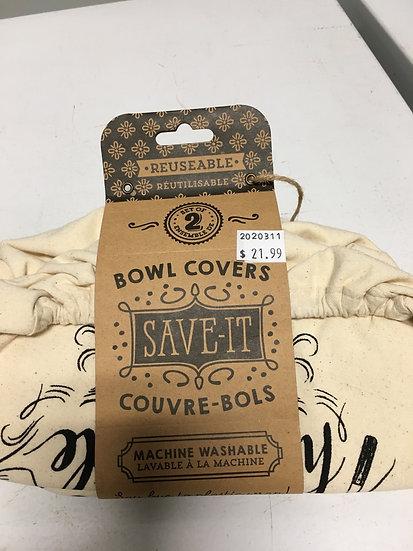 Reusable Bowl covers 2pc Set