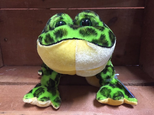 "7"" Bull Frog Webkinz Plush Stuffed Animal"