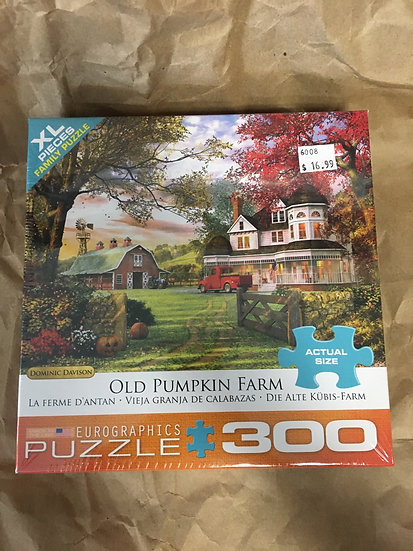 Old Pumpkin Farm- 300 pc Puzzle