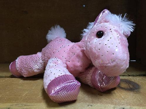 "7"" Pink Fantasy Pony Aurora Brand Plush Stuffed Animal"