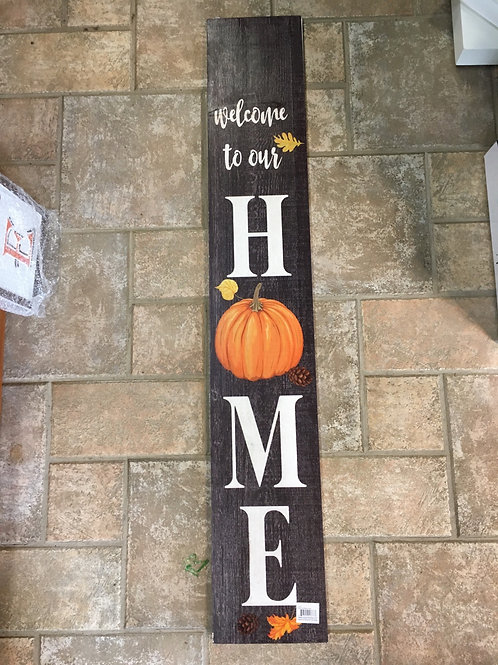 Dual Sided Porch Sign