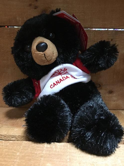 "8"" Black Bear Canada 150 Plush Stuffed Animal"
