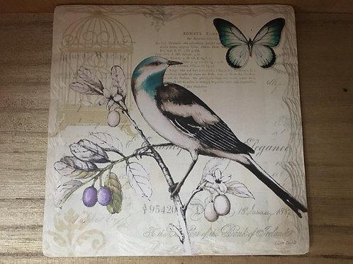 Bird Slate Coaster