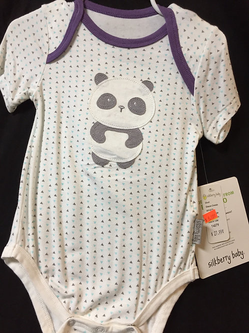 Bamboo Infant Onesie Size 6-12 Months