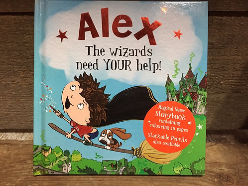 Alex The Wizards Need Your Help Magical Storytime Book
