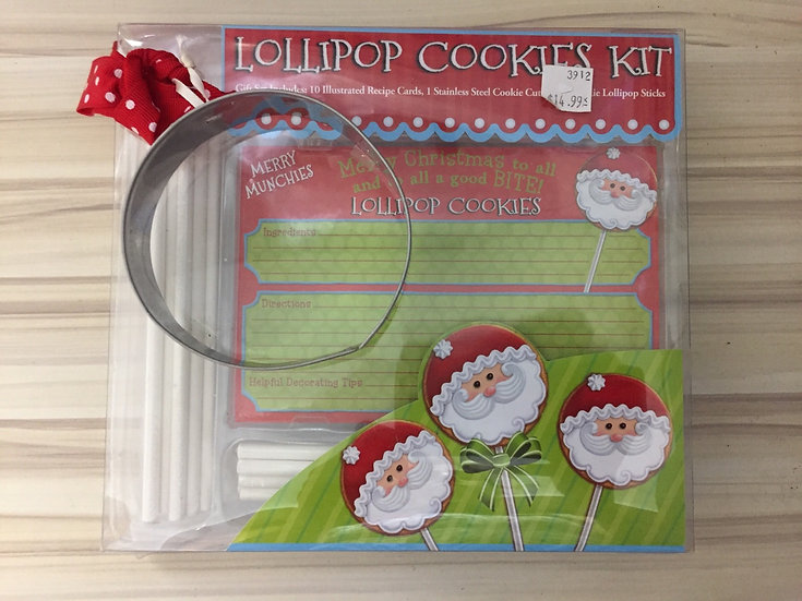 Lollipop Cookies Kit