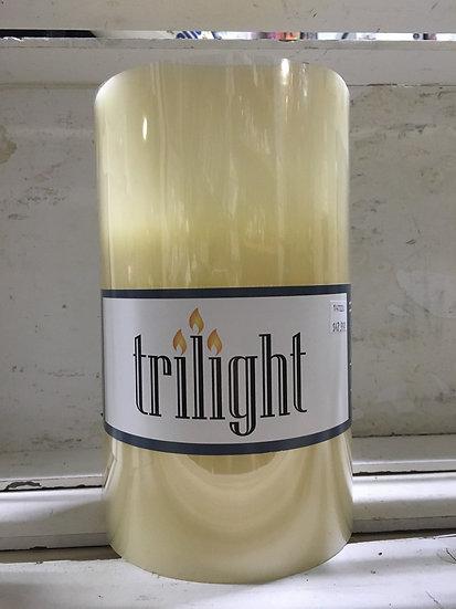 Large Trilight Candle