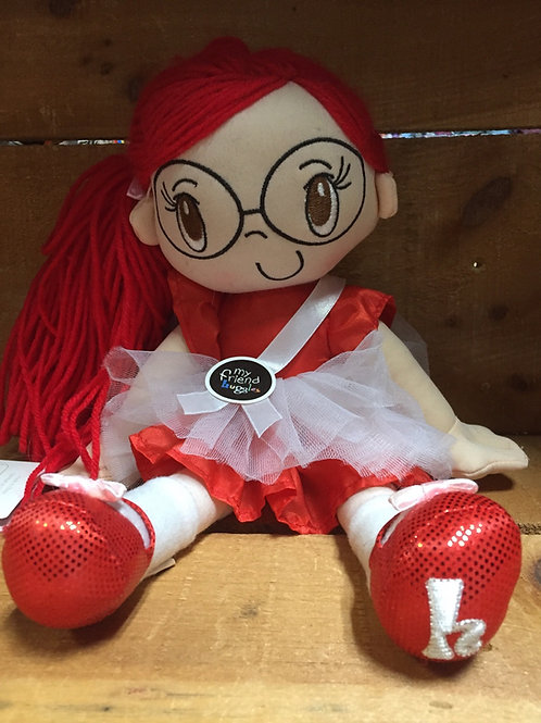 "15"" My Friend Huggles Plush Stuffed Doll"