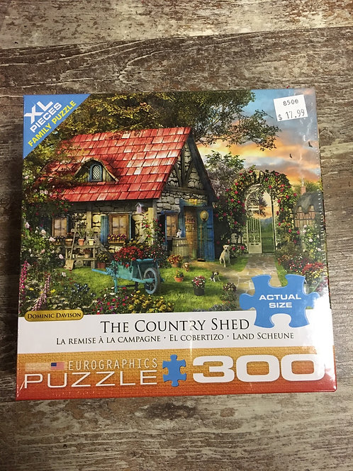 The Country Shed - 300pc puzzle