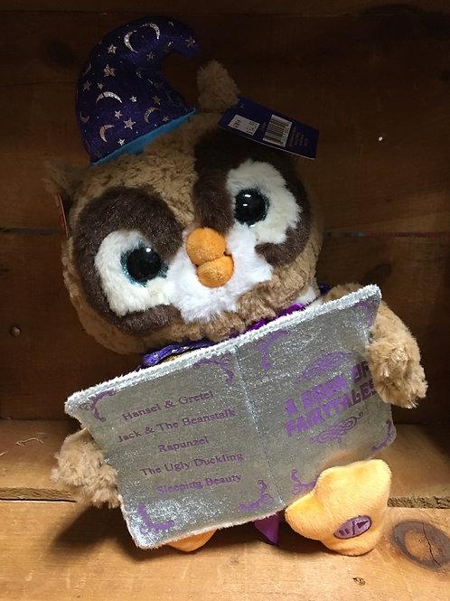 Cuddle Barn Talking Octavius the Owl Plush Stuffed Animal