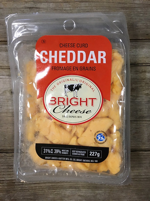 Yellow Cheese Curds by Bright Brand Cheese 227g