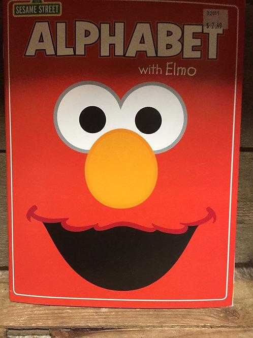 Alphabet with Elmo Sesame Street Colouring and Activity Book