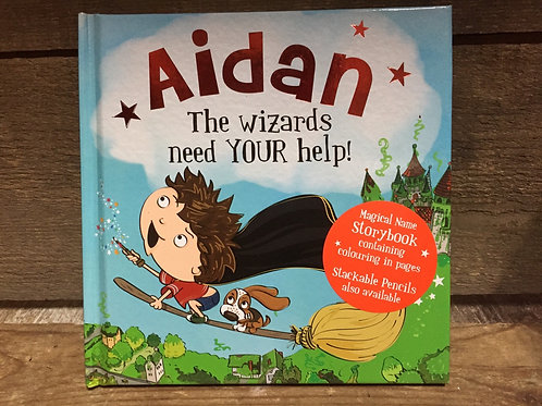 Aidan The Wizards Need Your Help Magical Storytime Book