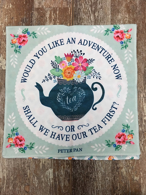"""""""Would You Like an Adventure..."""" Microfibre Kitchen Towel by History & Heraldry"""