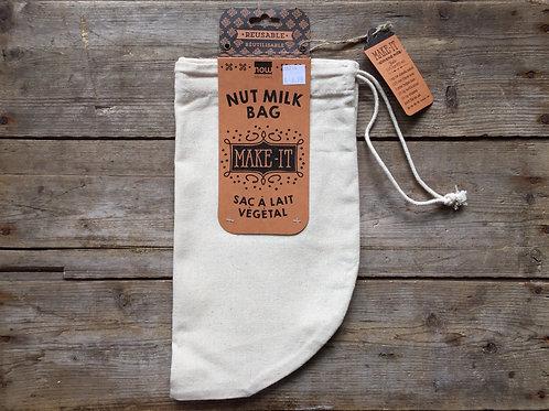 100% Unbleached Cotton Nut Milk Bag by Now Designs