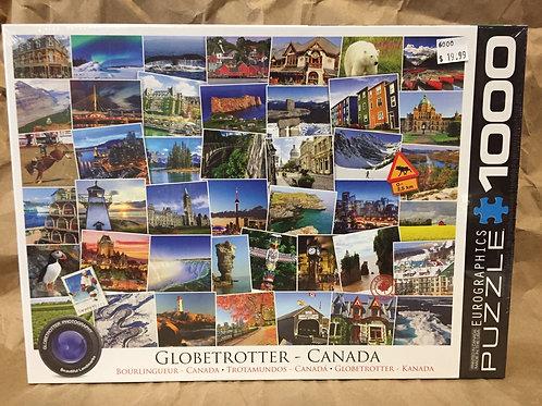Canada Globetrotter - 1000 Piece Puzzle