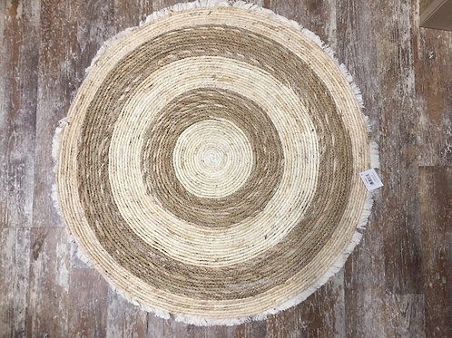 "31"" Maize and Cattail Round Mat"