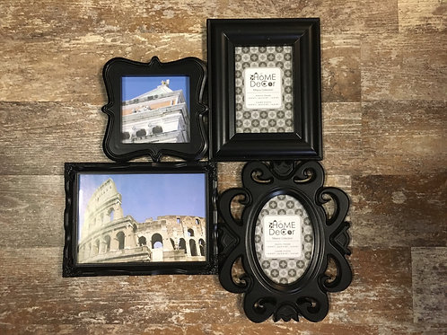 """15.5"""" x 14"""" Hanging Plastic Photo Collage Frame by Home Decor"""