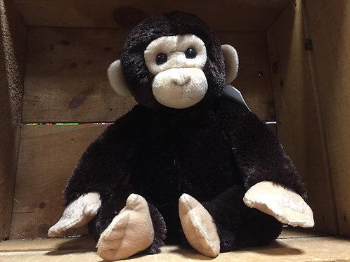 """12""""  Chimpanzee Plush Stuffed Animal"""
