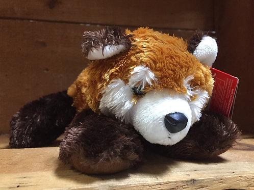 "7"" Red Panda Aurora Brand Plush Stuffed Animal"