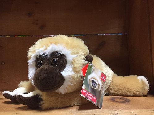 """10"""" Gilbert the White-Handed Gibbon Plush Stuffed Animal"""